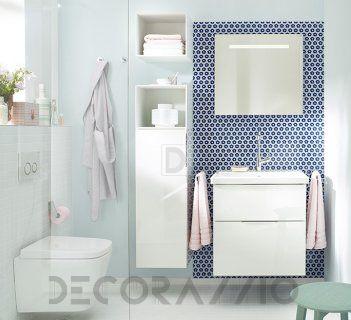 #bathroom #furniture #interior #design #interiordesign #designideas  комплект в ванную Burgbad Eqio, SEYQ063/UH3525/SIGP065