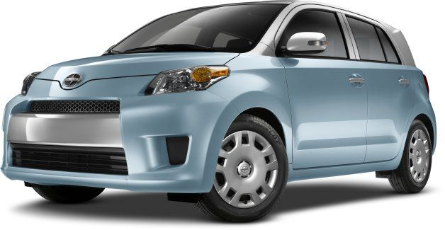 2014 Scion xD's available two-tone paint says 'I'm still here!'