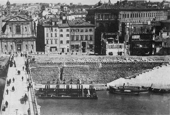 Porto di Ripetta Anno: 1887