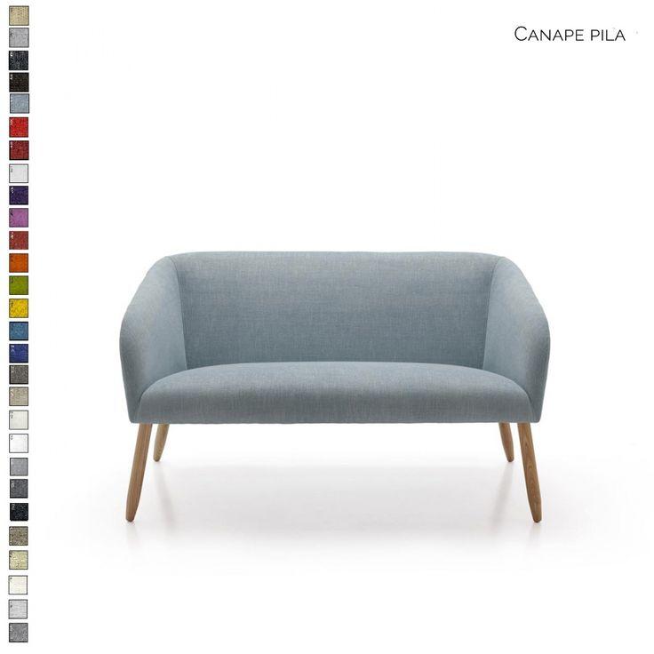 Canapé Pila haut de gamme personnalisable par Inspiration Luxe. Livraison en France et en Europe.  #canapé #design #scandinave #déco