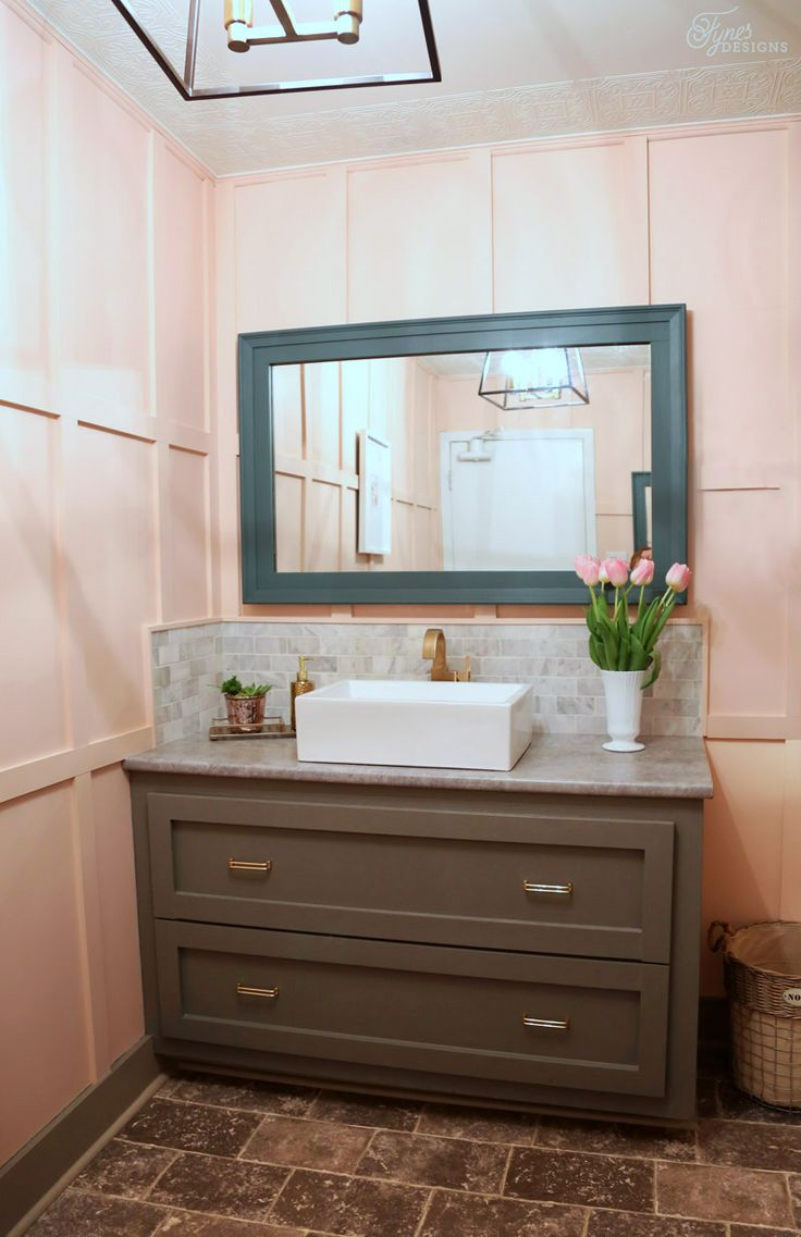 Startling decorative mirrors for bathroom decor ideas images in powder - Restaurant Bathroom Makeover
