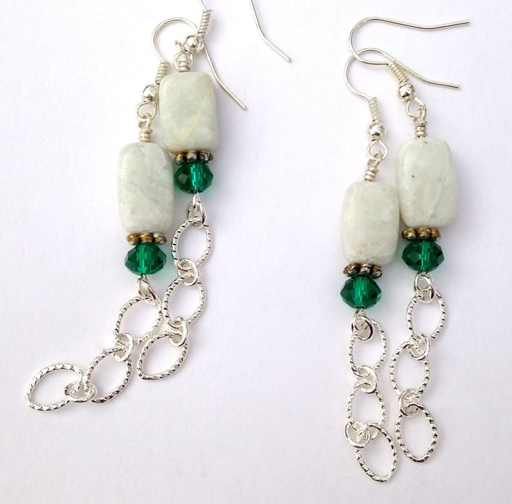 Now trending: Amazonite Chain Earrings, Pale Blue Gemstone Earrings, Crystal Beaded Earrings, Pale Blue Jewelry https://www.etsy.com/listing/260230320/amazonite-chain-earrings-pale-blue?utm_campaign=crowdfire&utm_content=crowdfire&utm_medium=social&utm_source=pinterest