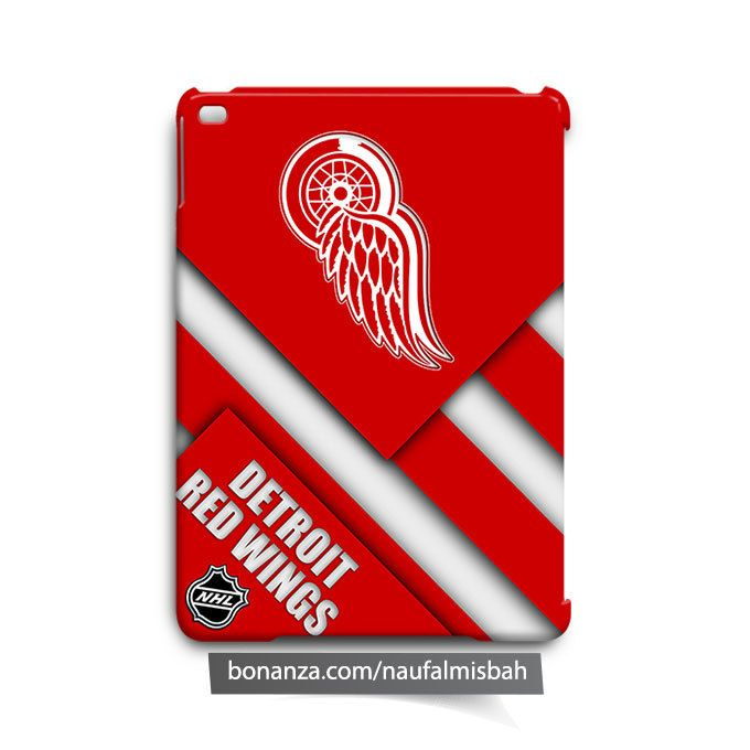 Detroit Red Wings Cool iPad Air Mini 2 3 4 Case Cover