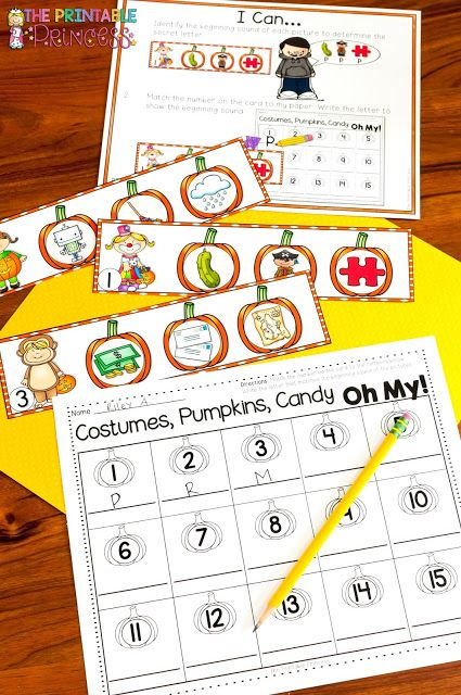 You're going to love the great Halloween activities for Kindergarten included at this post! You'll find great Halloween book recommendations for young learners, letter sound practice, uppercase & lowercase letter practice, counting numbers, letter formation, ten frames, comparing numbers, making five, number order, rhyming, syllables, beginning sounds, and MORE math & literacy fun! Did I mention there are FREE items for you to download too? Click through now to get yours to use all October…