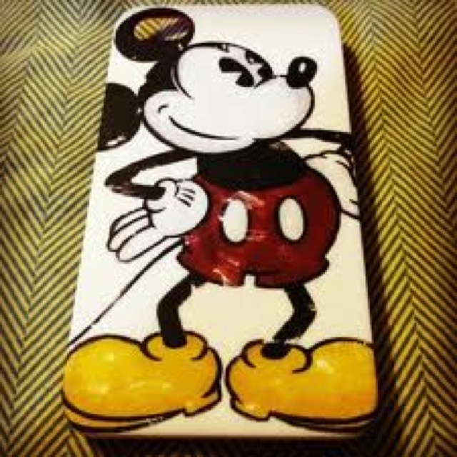 Old fashioned disney iphone case
