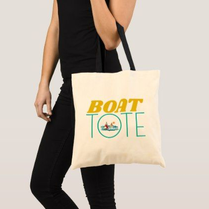 Boat Tote Sailing Style Fashion Bag - women woman style stylish unique cool special cyo gift idea present
