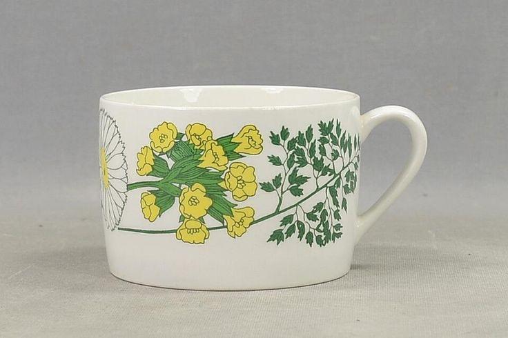 Annons på Tradera: 1 Retro Tekopp - Flora i fint skick, 70-tal