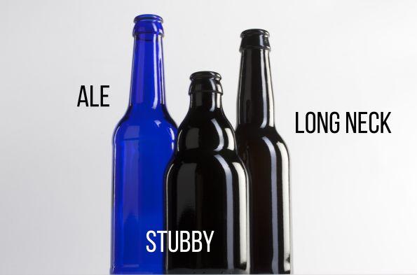#Botella de #Cerveza Ale, Stubby y Long neck de 330 ml. juvasa.com