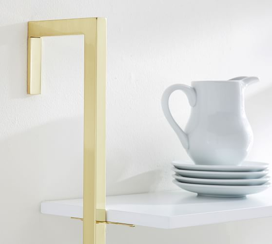 Olivia Wall Mounted Shelves - 2 Tier #potterybarn