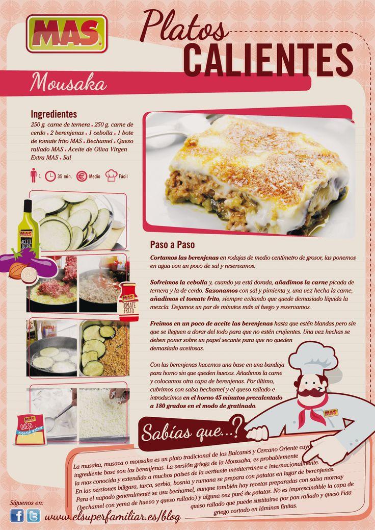 Aprende a preparar una rica Mousaka, un típico plato griego, ¿te animas?