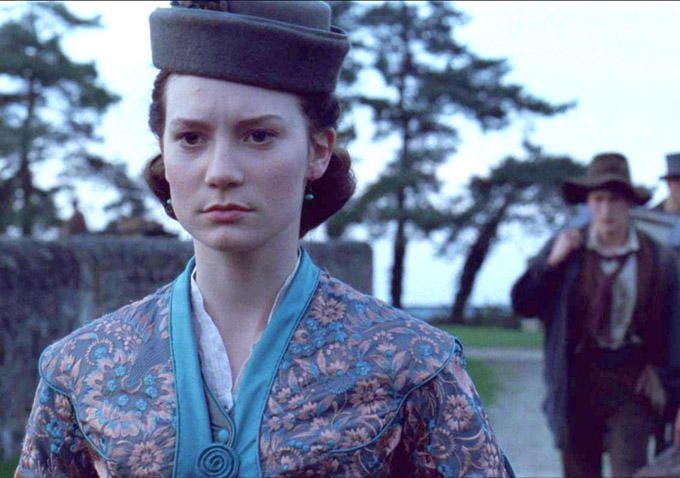 Madame Bovary:  the costuming was interesting, if a little overdone.  The acting, script and pacing, on the other hand, were atrocious.  There is a reason this didn't see wide release.