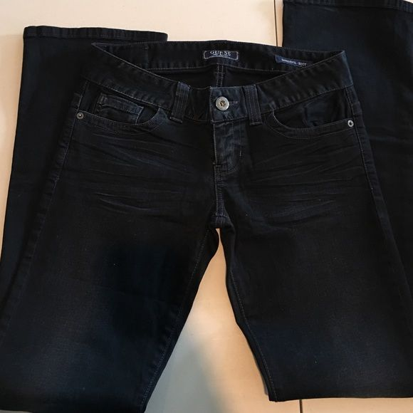 Almost new Guess jeans Super nice butt fit. Daredevil boot Guess Jeans Boot Cut