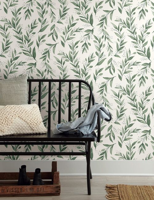 York Wallcoverings Me1535 Magnolia Home Vol Ii Olive Branch Olive Grove Home Wallpaper Magnolia Homes Joanna Gaines Wallpaper