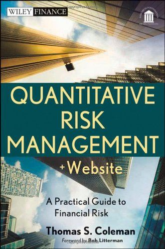 State of the art risk management techniques and practices—supplemented with interactive analytics All too often risk management books focus on risk measurement details without taking a broader view. Quantitative Risk Management delivers a synthesis of common sense management together with the c... more details available at https://insurance-books.bestselleroutlets.com/risk-management/product-review-for-quantitative-risk-management-website-a-practical-guide-to-financial-risk
