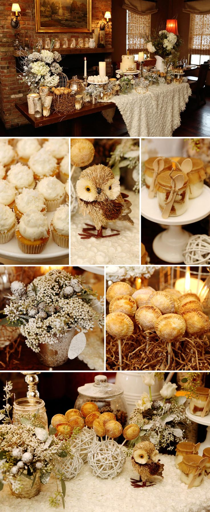 Rustic Winter Woodland Birthday Party