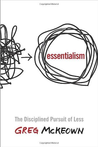 Essentialism: The Disciplined Pursuit of Less by Greg McKeown http://smile.amazon.com/dp/0804137382/ref=cm_sw_r_pi_dp_YVKavb002JS21