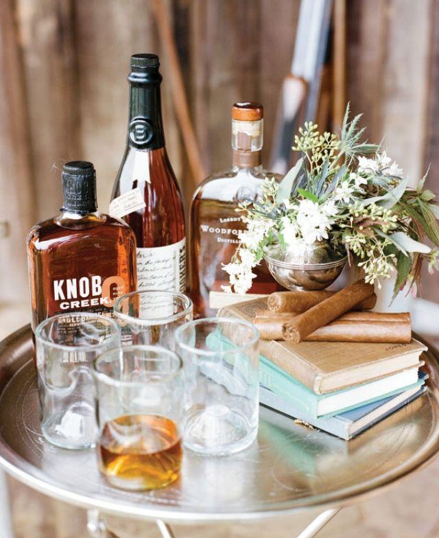 Voor je husband to be en zijn vrienden is een whiskeybar een mooie uitkomst op…