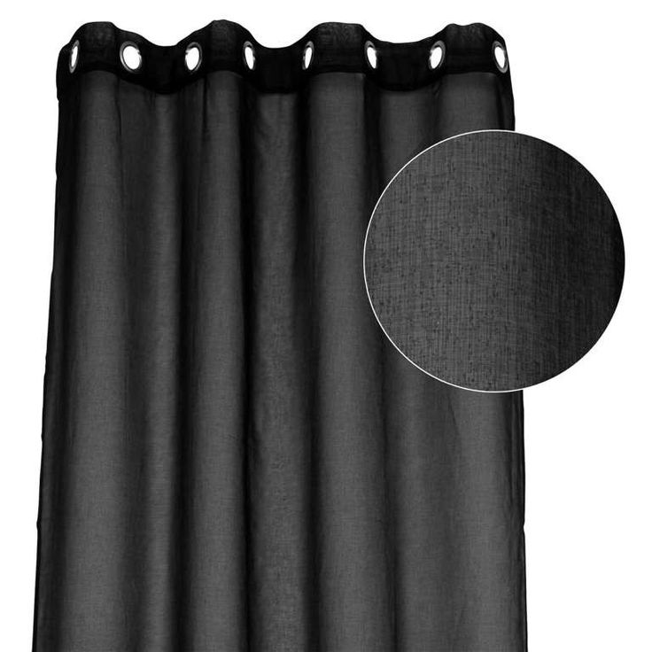 11 best rideaux images on pinterest curtains curtain holder and curtain rods. Black Bedroom Furniture Sets. Home Design Ideas