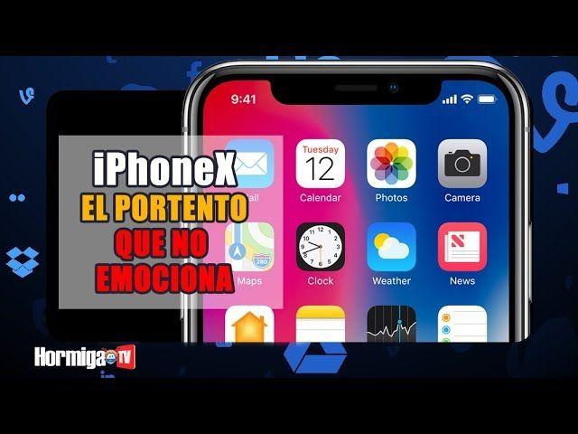 Video Análisis: iPhoneX el PORTENTO QUE NO EMOCIONA #Moviles