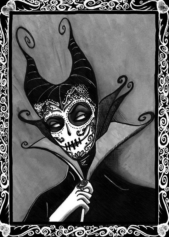 Original Day of the Dead Dios De Los Muertes by DanaChangingArt,