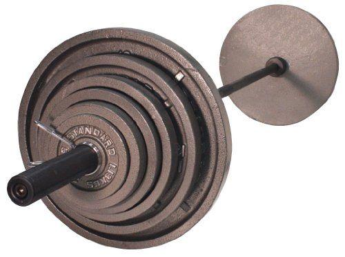 USA Sports OSS-300B 300 lb. Olympic Weight Set - http://www.healthymagpa.com/usa-sports-oss-300b-300-lb-olympic-weight-set/