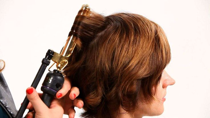 iron hair style i m going to show you today how to curl hair using a 6890