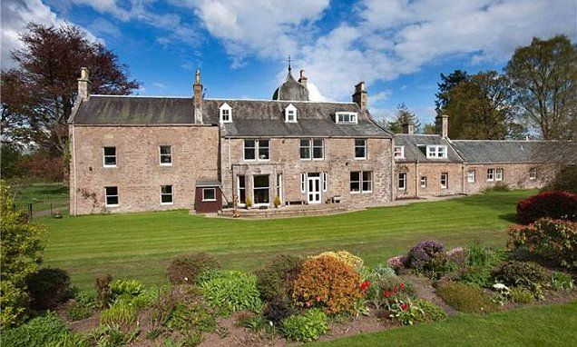Bednobs but no broomsticks! Scottish estate complete with a crooked bridge designed to keep out WITCHES is sold for the first time in nearly 500 years. Scottish estate for sale at £1.5million.