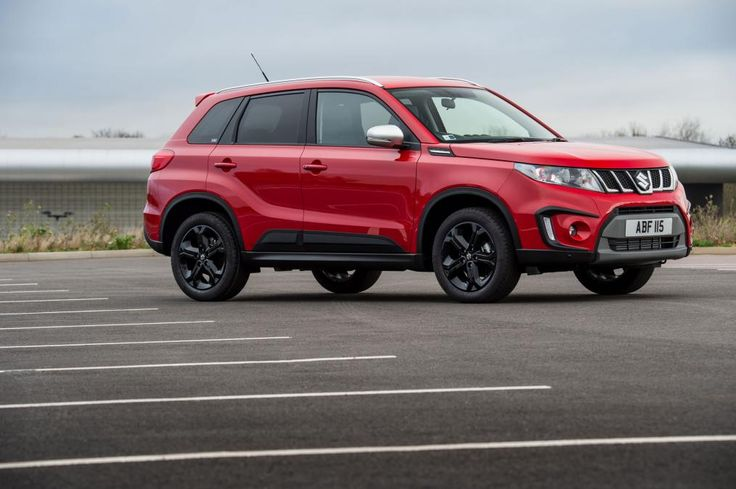 Suzuki Vitara S Boosterjet Compact SUV Side Views