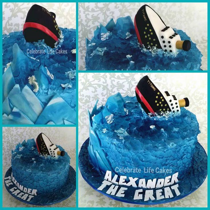 Titanic Ship Cake