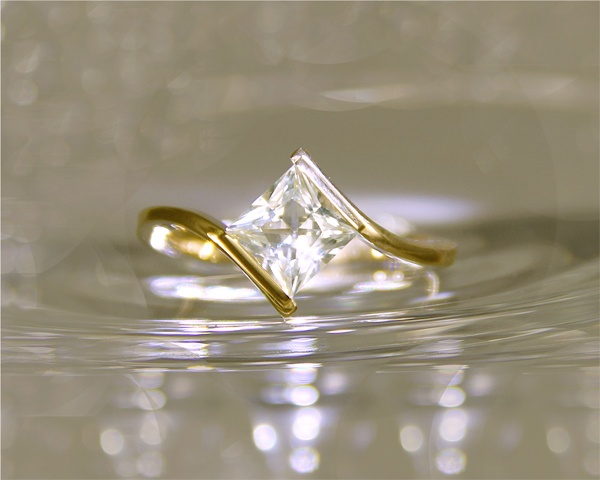 Killiecrankie Diamond Ring from Spiral Creations Jewellery  www.spiralcreationsjewellery.com
