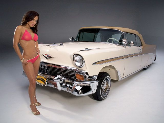 1956 chevy bel air lowriders pinterest models. Black Bedroom Furniture Sets. Home Design Ideas