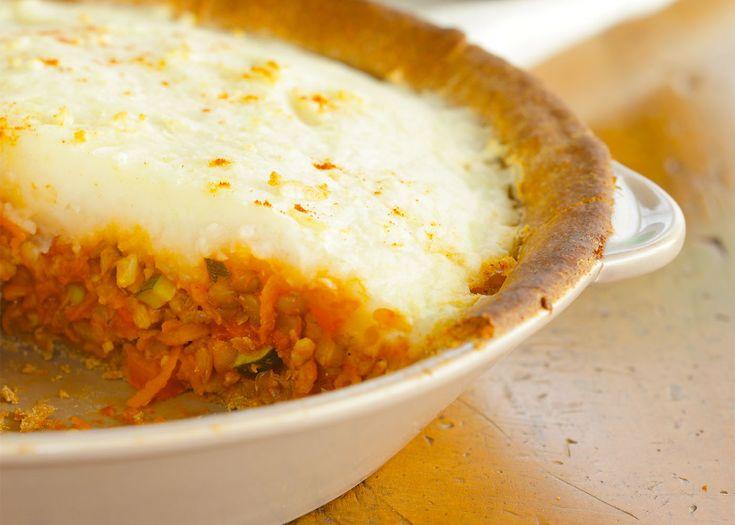 potato and lentil pie   #lentils #pie #recipe #foodwise