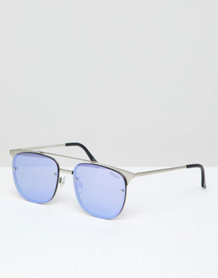 fb6bb119d4b31 Quay Australia Private Eyes Aviator Sunglasses