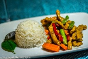 Coconut Curry Pork Stir Fry. A really flavoursome take on traditional stir fry. A great option for those cooler nights. Also really quick and easy to make! Enjoy.
