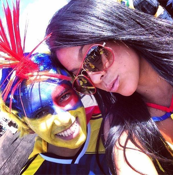 Postales maravillosasssss #brasilia #colombia #elmundialconlahinchada Grs @alejotiendavirtual por mis gafas divinas