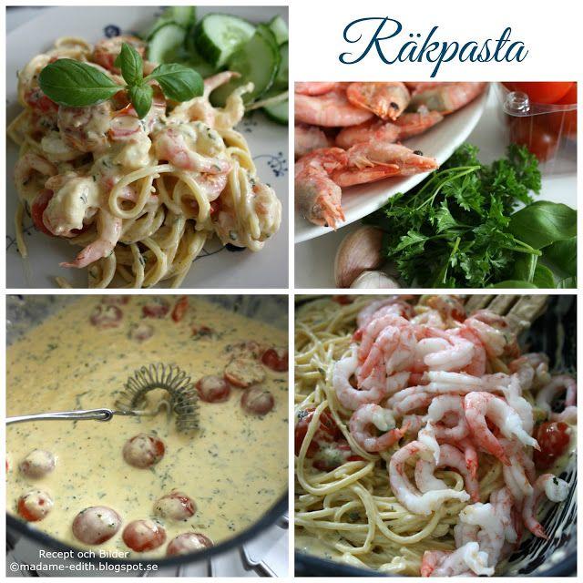 På bilden ser ni en enkel pasta med räkor  som är kryddad med bland annat vitlök och citronpeppar. Det har ju blivit många bakverk på bl...