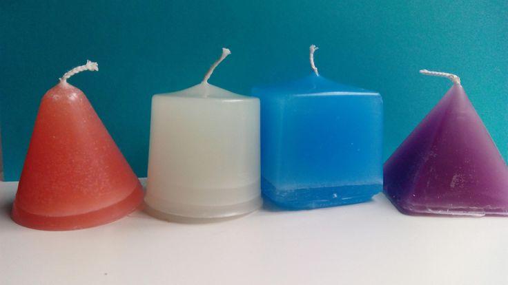 Set of handmade candles by Nokireki on Etsy