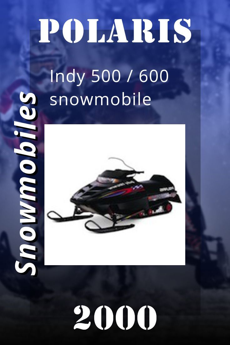 2000 Polaris Indy 500 600 Snowmobile Service Manual Indy 500 Indie Snowmobile