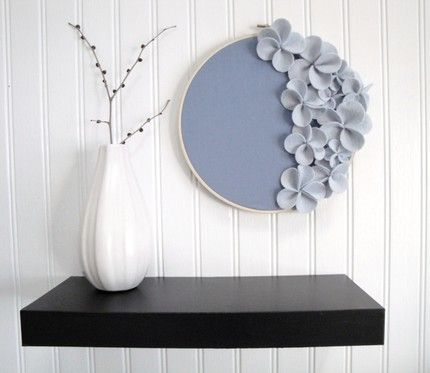 "Home Staging: Embroidery Hoop Art Idea by ""Embroidery Hoop Chic"""