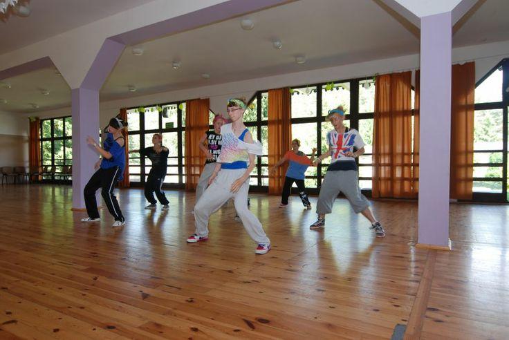 Obóz Taneczny na Mazurach, Trening hip-hop, el. break-dance, jazz, taniec współczesny, Polska, Obozy i Kolonie Letnie 2014, Obozy Taneczne, ...