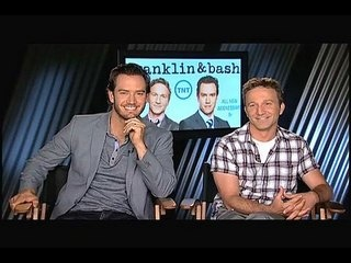 "Franklin & Bash - Season 3: Exclusive: Mark-Paul Gosselaar and Breckin Meyer -- We go one-on-one with actors Mark-Paul Gosselaar and Breckin Meyer to talk about season 3 of ""Franklin & Bash"". -- http://wtch.it/WlTb5"
