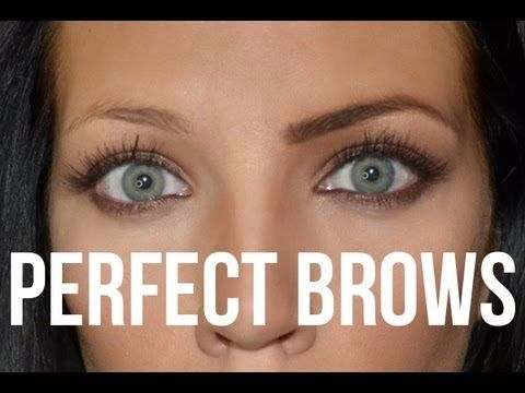The Perfect Eyebrow -   Three important measurements: 1. up the side of your nose (start eyebrows here) 2. side of your nose angled through pupil (arch) 3. side of your nose angled to eye corner (eyebrow ends here)