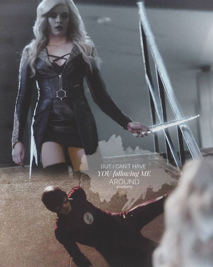 The Flash⚡ Danielle Panabaker Killer Frost ❄ Barry Allen ❤ #theflashseason3 #FlashFrost #Snowbarry