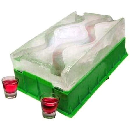 Party Ice Luge - Race Your Shots Down the Icey Slopes! - The Green Head