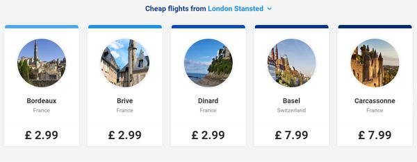 Fly London to France for $4 With Ryanair's Easter Sale