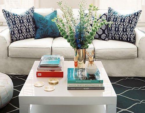 17 best images about mesas de centro e laterais on for Como decorar mesa de centro