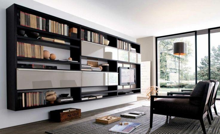Tv ünitesi ve kitaplık modeli. Daha fazla dekorasyon için sitemizi ziyaret edebilirsiniz #kitaplikmodelleri #kitaplik #evdekorasyonu http://evdizayni.com