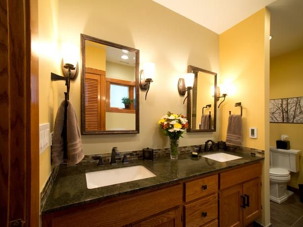 Arts-and-crafts Bathrooms from Nancy Snyder on HGTV