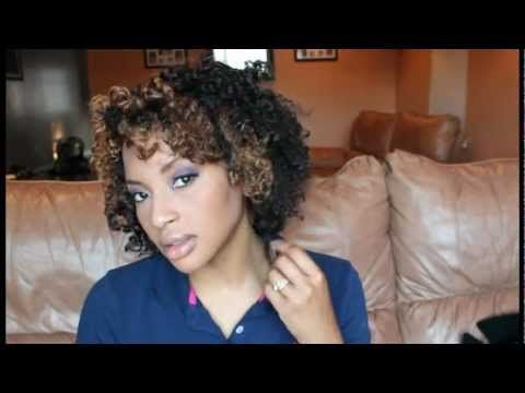 Natural Twist-n-Curl with perm rods