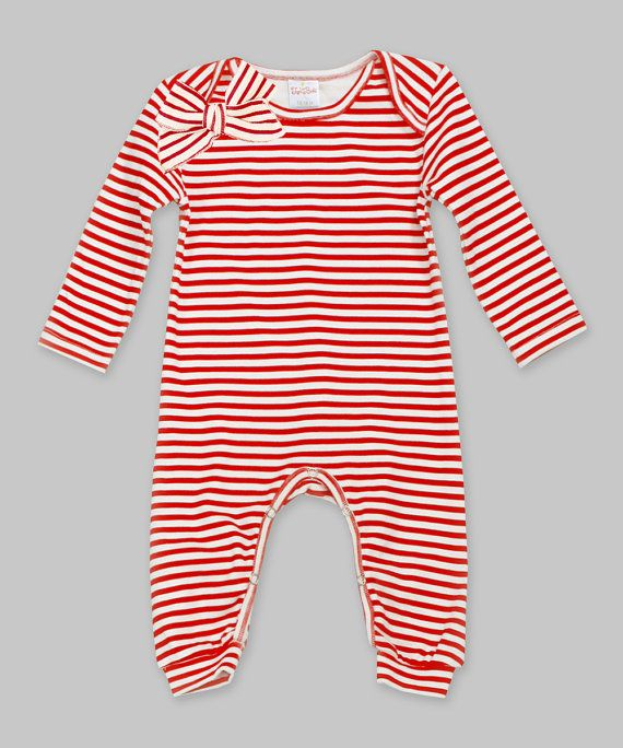 Baby Girl Christmas Romper, Baby Christmas Onsie, Baby Christmas Outfit, Baby Girl Clothes, Cotton Romper with Bow, Newborn Girl, Tesababe